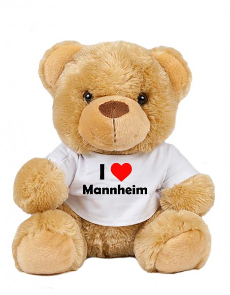 Teddy - I love Mannheim - Plüschbär Mannheim