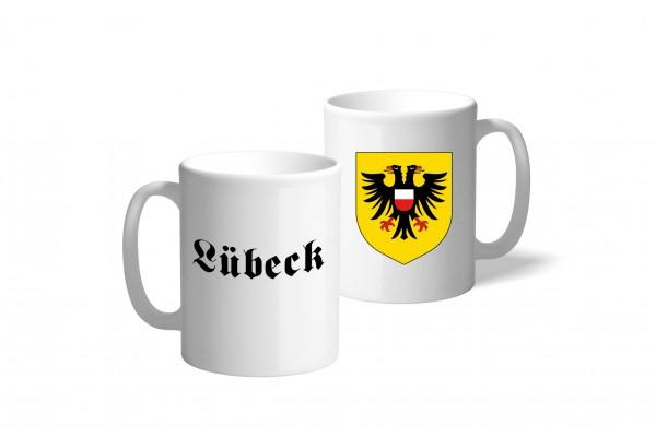 Tasse Wappen: Lübeck