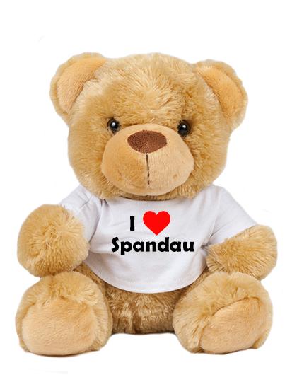 Teddy - I love Spandau - Plüschbär Berlin Spandau