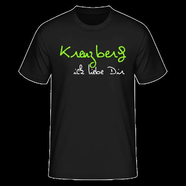 T-Shirt Kreuzberg Ick Liebe Dir