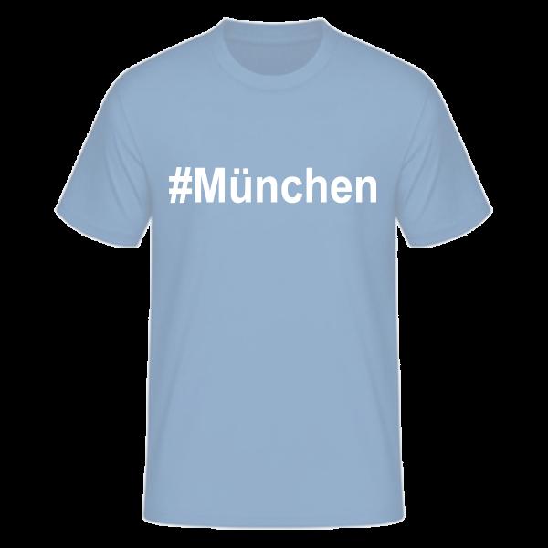 T-Shirt Kurzarmshirt #München