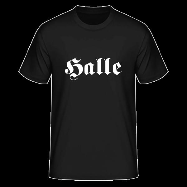 """Unisex T-Shirt Altdeutsch """"Halle"""""""
