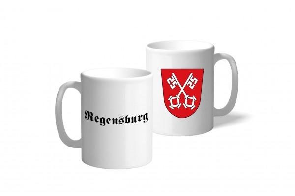 Tasse Wappen: Regensburg