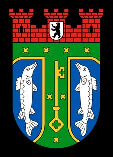 Aufkleber - Wappen klein (Treptow-Köpenick)