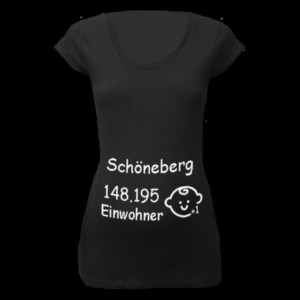 Schöneberg Einwohner + 1 T-Shirt für Schwangere Frauen