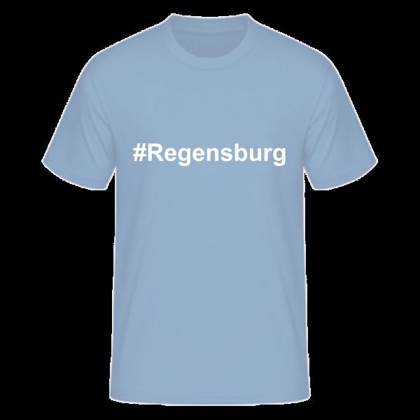 T-Shirt Kurzarmshirt #Regensburg
