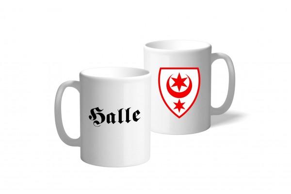 Tasse Wappen: Halle
