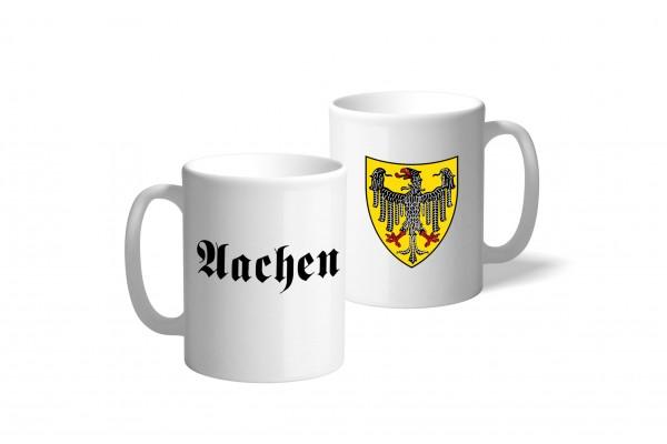 Tasse Wappen: Aachen
