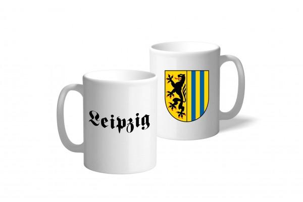 Tasse Wappen: Leipzig