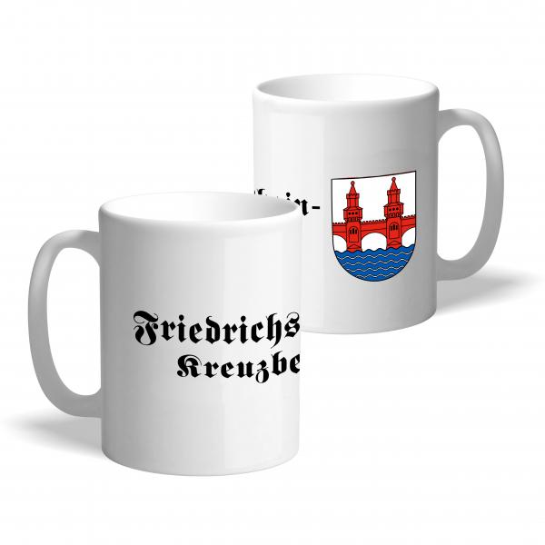 Tasse Wappen: Friedrichshain-Kreuzberg