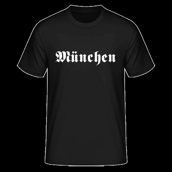 """Unisex T-Shirt Altdeutsch """"München"""""""