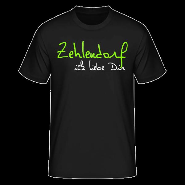 T-Shirt Zehlendorf Ick Liebe Dir