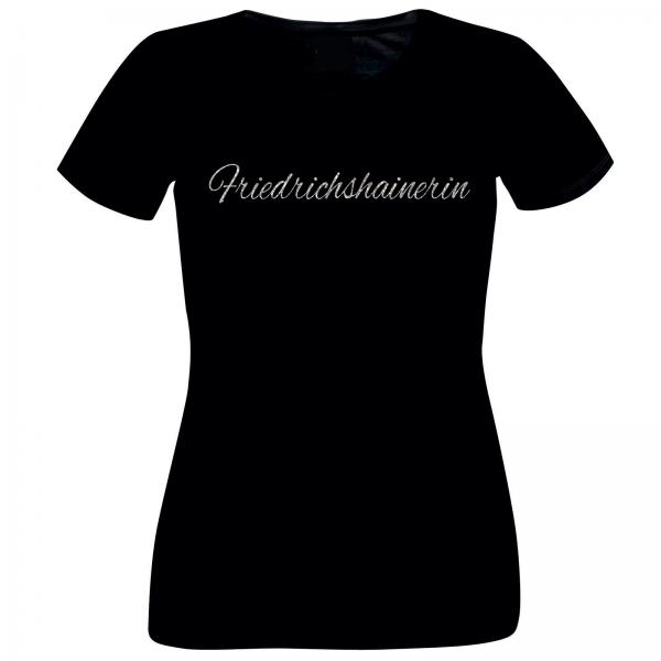 Girlie-Shirt Glitzer Friedrichshainerin