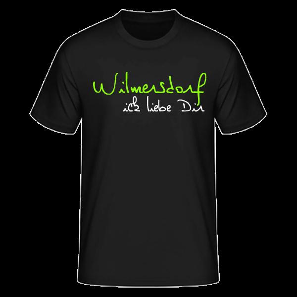 T-Shirt Wilmersdorf Ick Liebe Dir