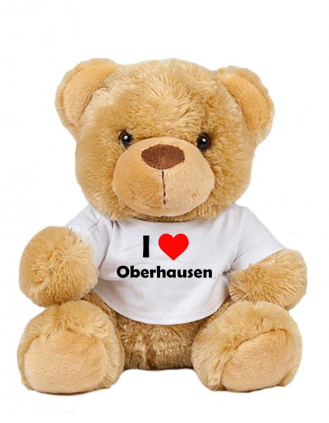 Teddy - I love Oberhausen - Plüschbär Oberhausen