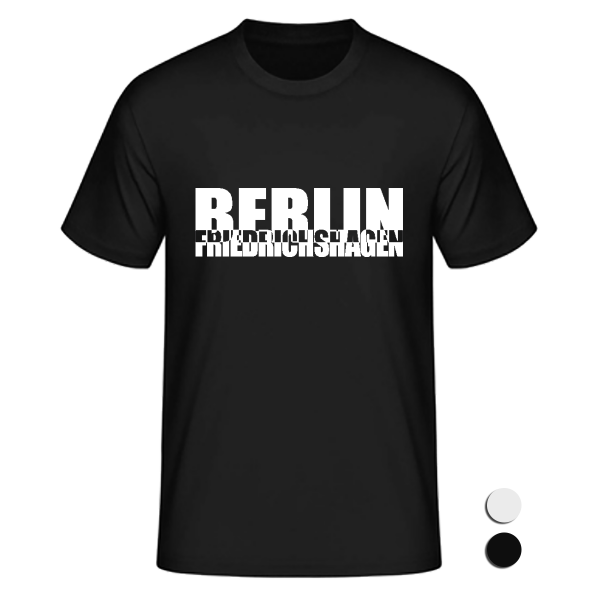 T-Shirt Friedrichshagen Schachbrett