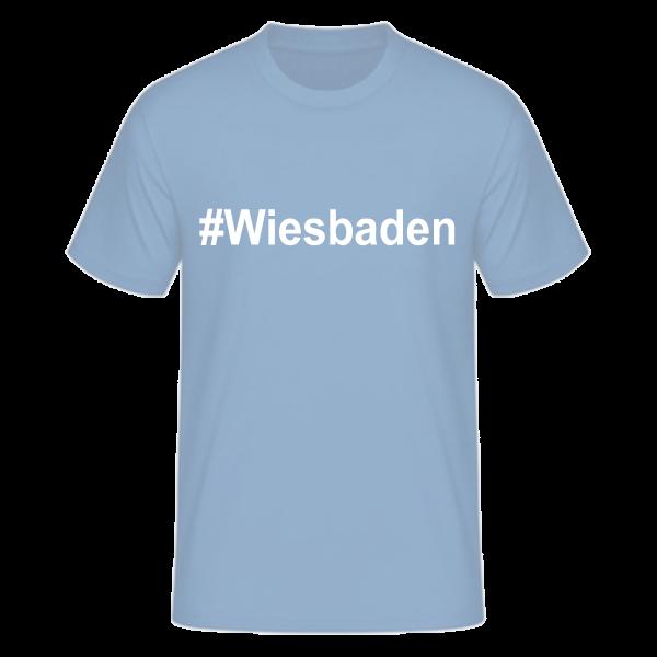 T-Shirt Kurzarmshirt #Wiesbaden