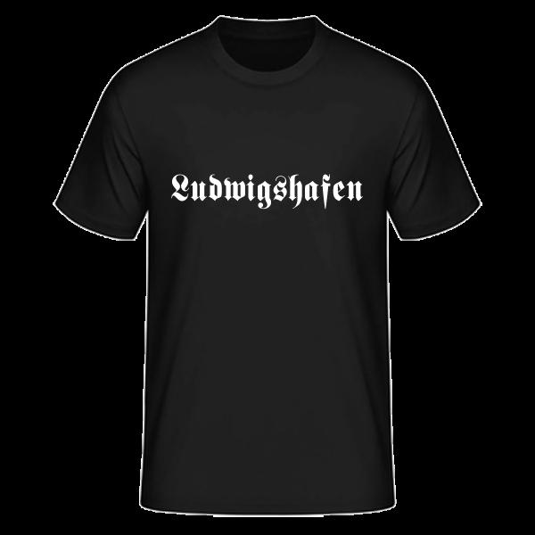 """Unisex T-Shirt Altdeutsch """"Ludwigshafen"""""""