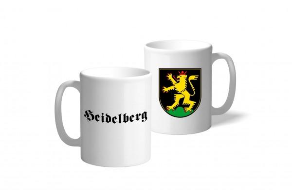 Tasse Wappen: Heidelberg