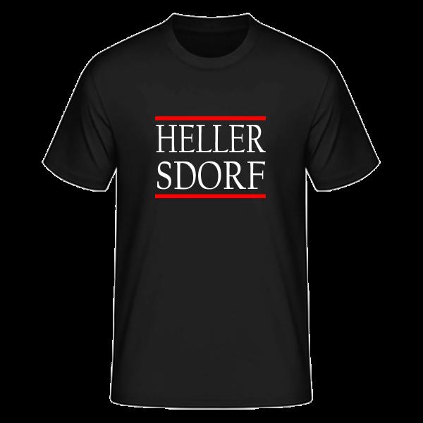 T-Shirt Silben HELLER-SDORF (Run DMC Style)