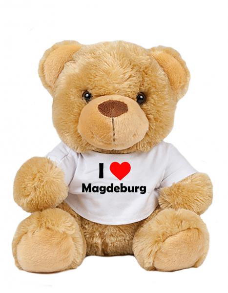 Teddy - I love Magdeburg - Plüschbär Magdeburg