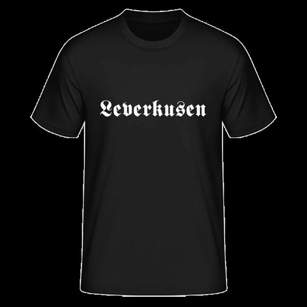 """Unisex T-Shirt Altdeutsch """"Leverkusen"""""""
