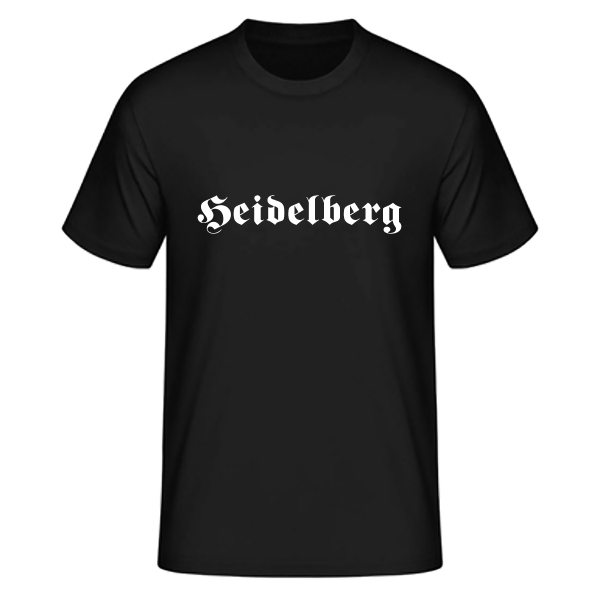 "Unisex T-Shirt Altdeutsch ""Heidelberg"""