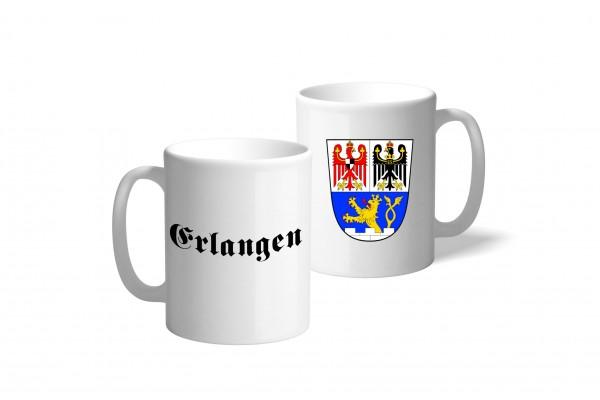 Tasse Wappen: Erlangen