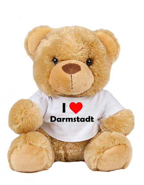 Teddy - I love Darmstadt - Plüschbär Darmstadt