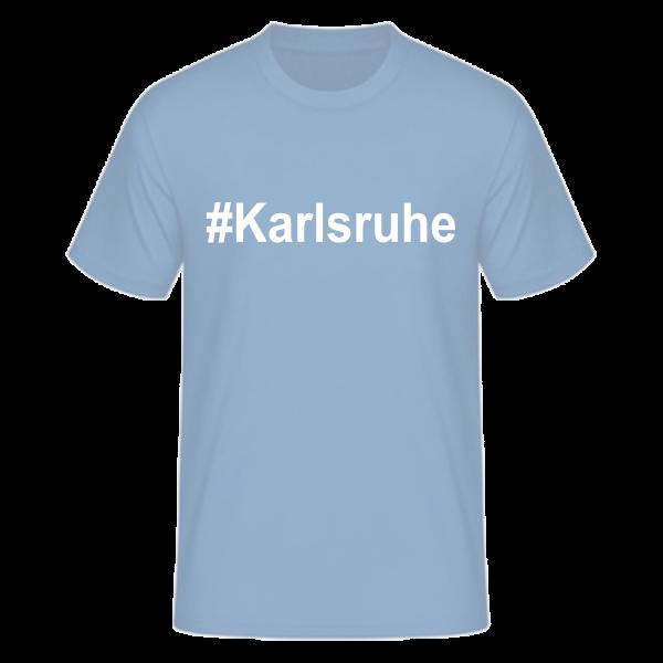 T-Shirt Kurzarmshirt #Karlsruhe