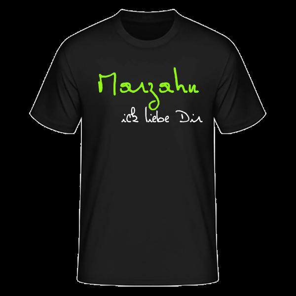 T-Shirt Marzahn Ick Liebe Dir