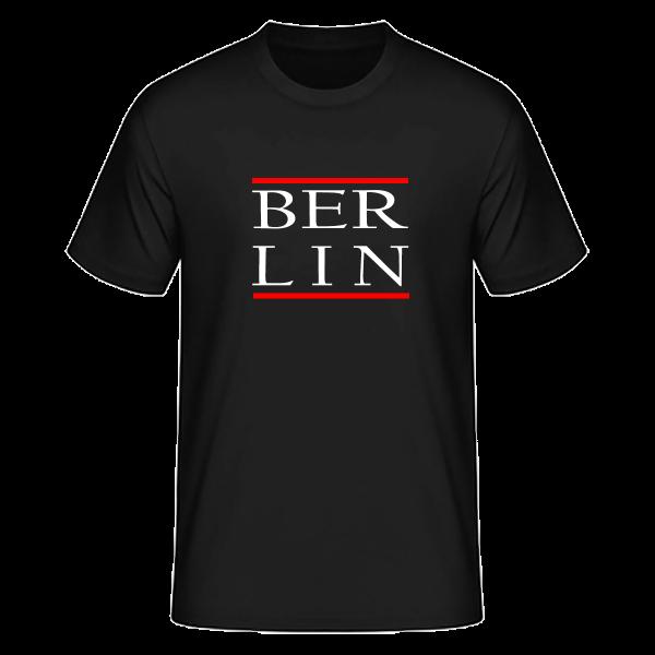 T-Shirt Silben BER-LIN