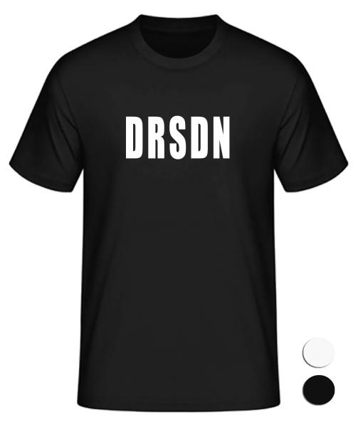 T-Shirt Konsonanten Dresden