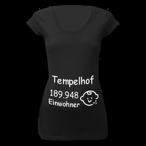 Tempelhof Einwohner + 1 T-Shirt für Schwangere Frauen
