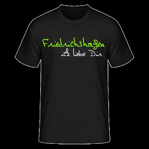 T-Shirt Friedrichshagen Ick Liebe Dir