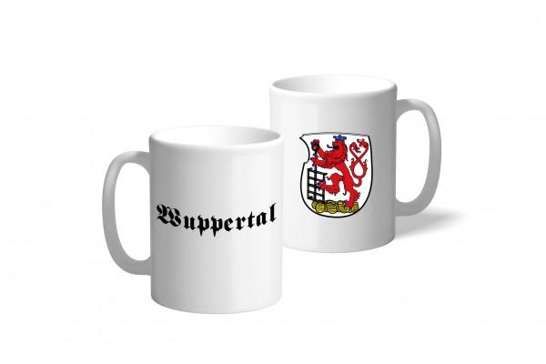 Tasse Wappen: Wuppertal