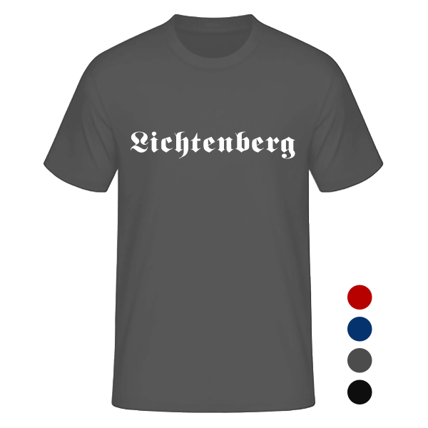 T-Shirt Altdeutsch Lichtenberg