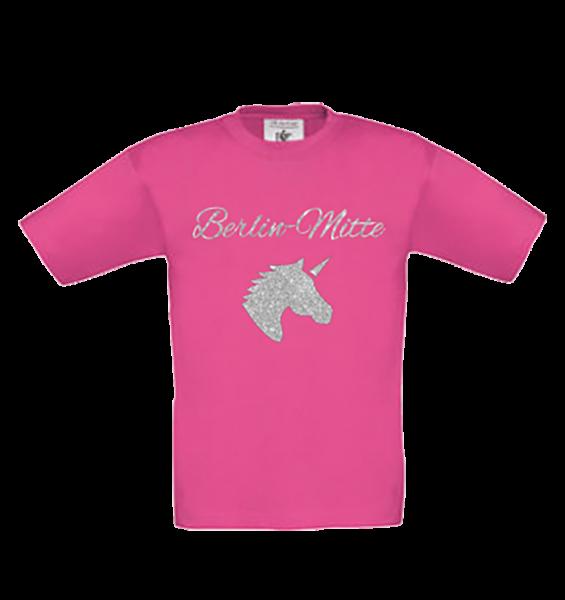 Mädchen T-Shirt Mitte