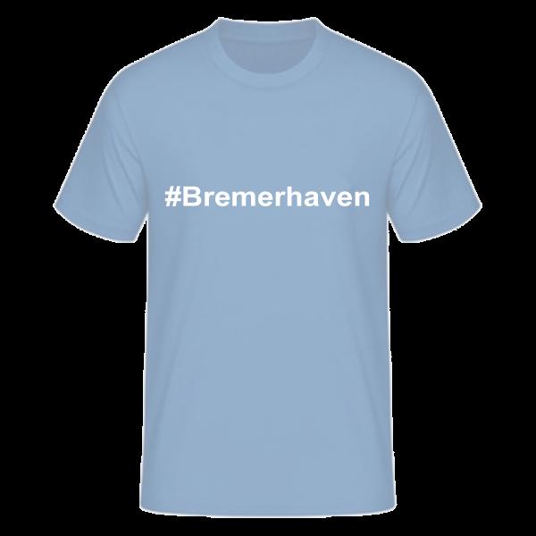 T-Shirt Kurzarmshirt #Bremerhaven