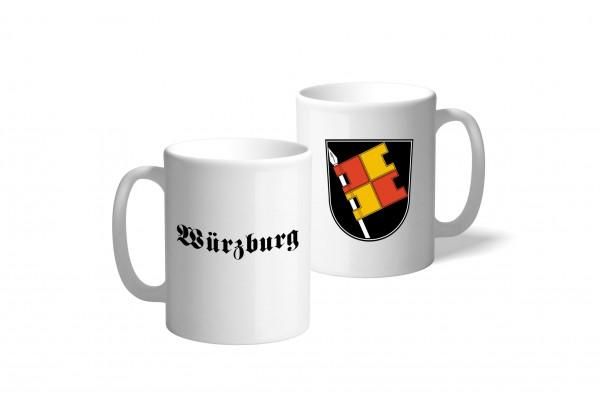Tasse Wappen: Würzburg