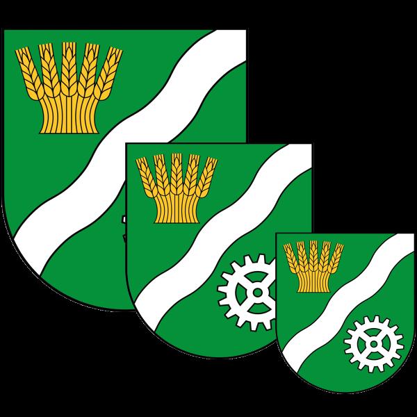 Aufkleber - Wappen Marzahn-Hellersdorf