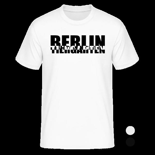 T-Shirt Tiergarten Schachbrett