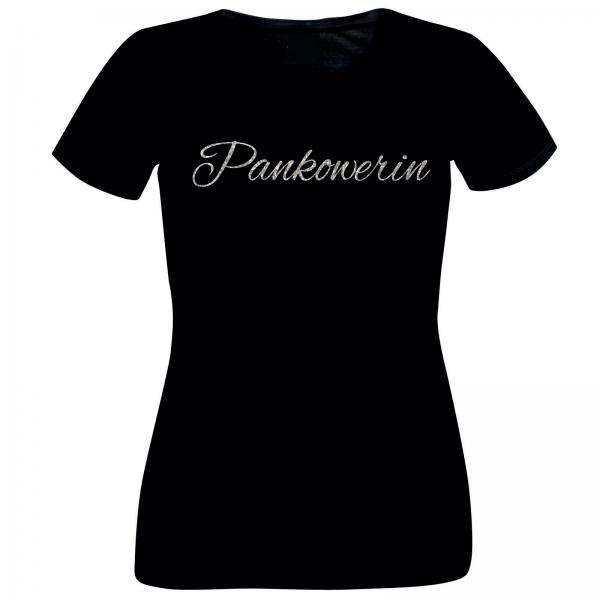 Girlie-Shirt Glitzer Pankowerin