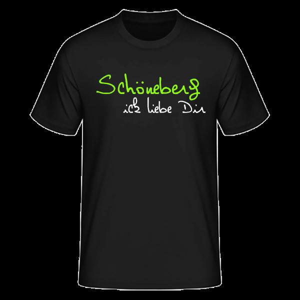 T-Shirt Schöneberg Ick Liebe Dir