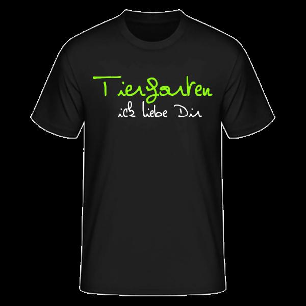 T-Shirt Tiergarten Ick Liebe Dir