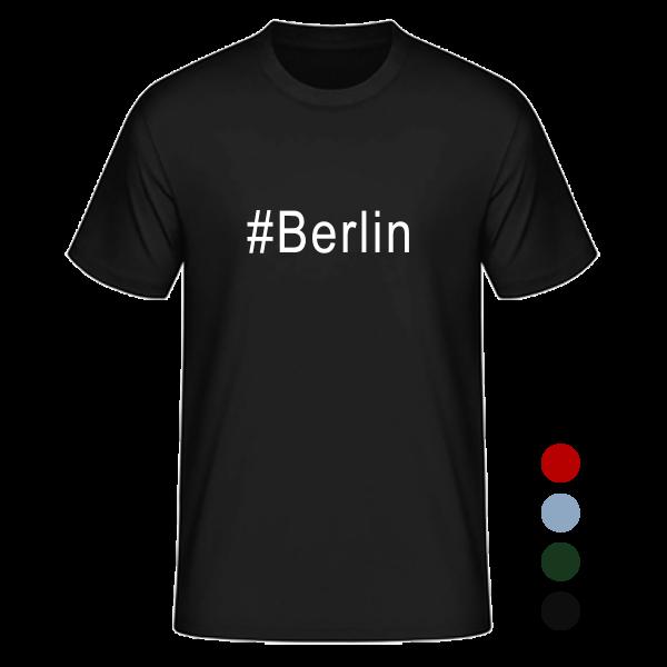 T- Shirt/ Kurzarmshirt #Berlin