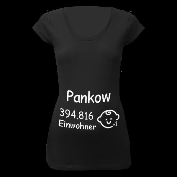 Pankow Einwohner + 1 T-Shirt für Schwangere Frauen
