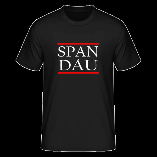 T-Shirt Silben SPAN-DAU (Run DMC Style)