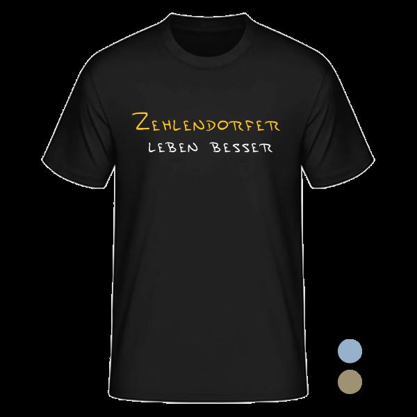 T-Shirt Zehlendorfer leben besser
