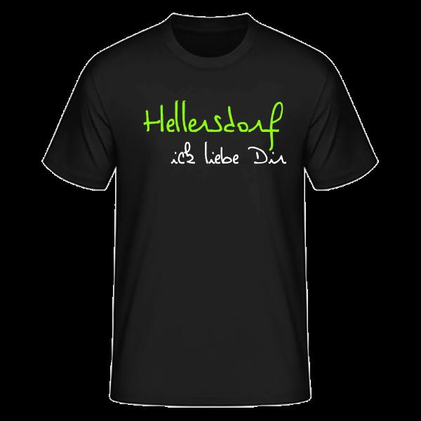 T-Shirt Hellersdorf Ick Liebe Dir